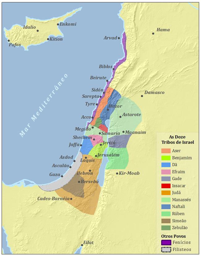 O Antigo Israel E Fenicia