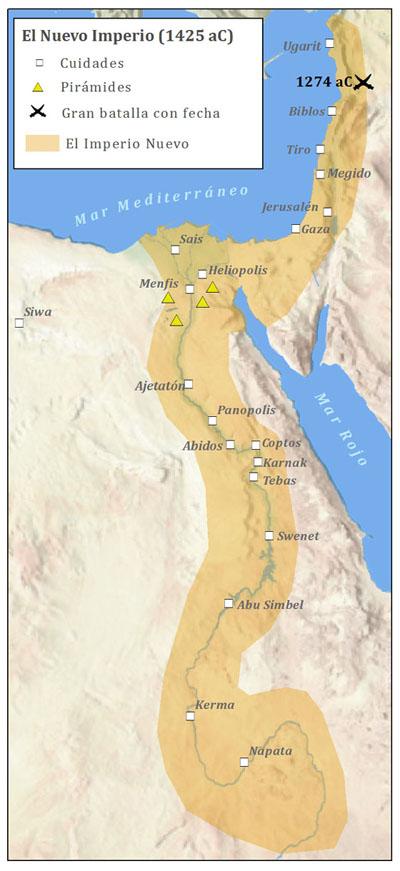 Mapa De Egipto Antiguo.El Antiguo Egipto