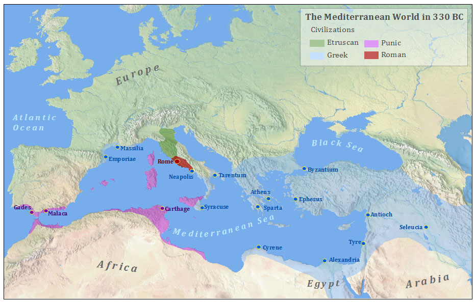 The Roman Conquest of the Mediterranean