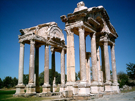 Sack of the Temple of Aphrodite in Aphrodisias
