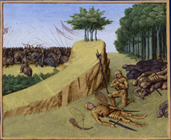 Battle of Roncevaux Pass (778 AD)