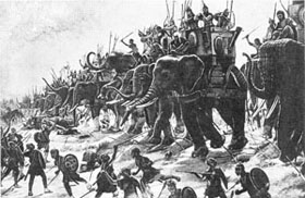 The Elephant Battle